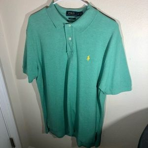 Polo by Ralph Lauren, Mens Size Large, Classic Fit, Green Polo Style Shirt
